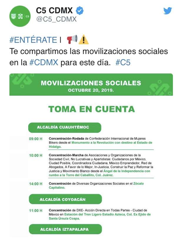 Tome nota y elija  alternativas