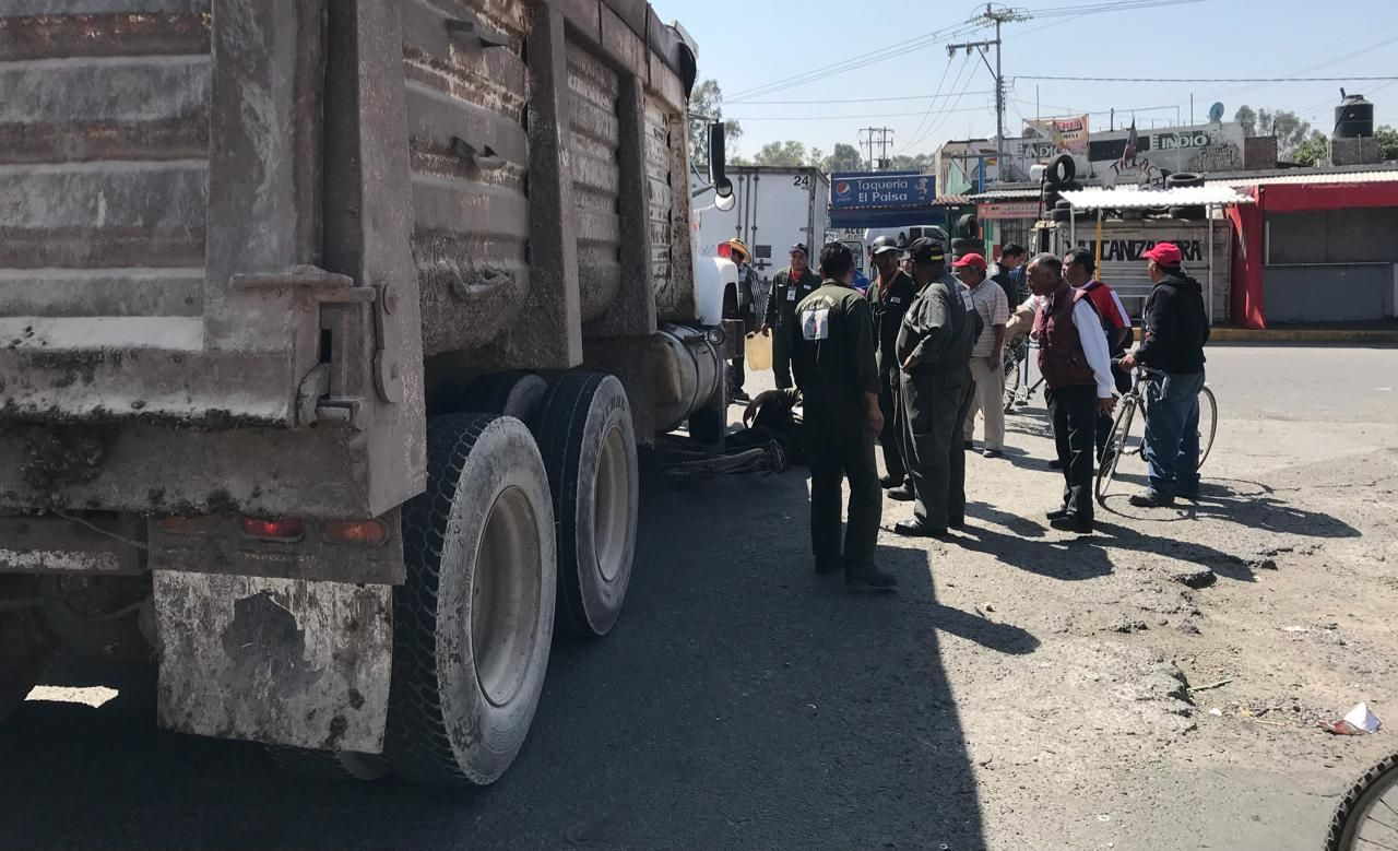 Góndola destroza el pie a adulto mayor en la Texcoco - Lechería