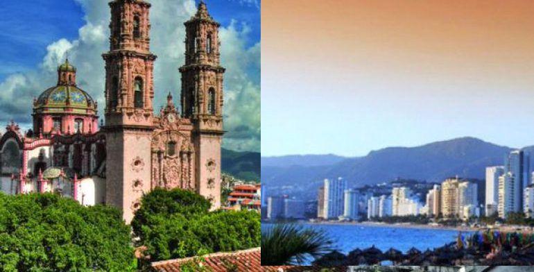 Superan Taxco y zona Dorada de Acapulco el 90% de ocupación hotelera