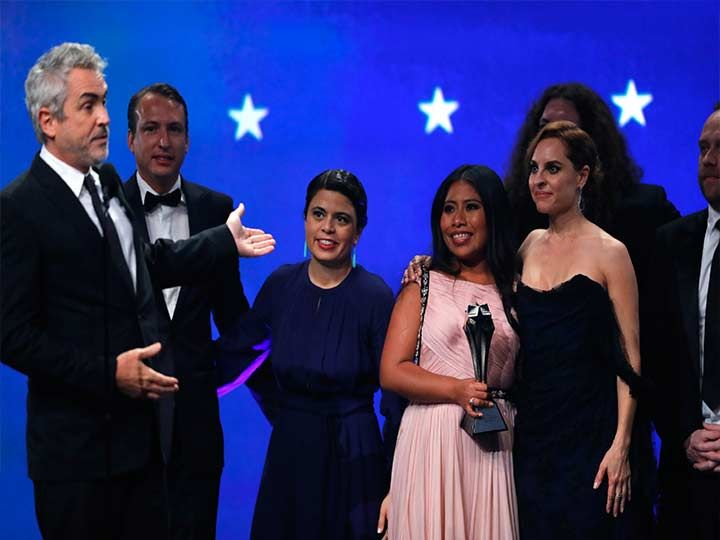 """Roma"" triunfa en los Critics' Choice Awards"