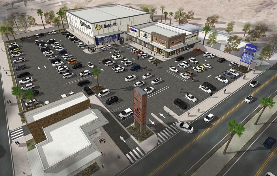 Colocan primera piedra de la plaza comercial Real Center Rocky Point que tendrá 5 salas de cine .