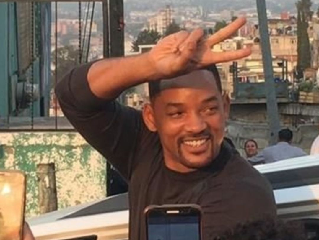 Will Smith de visita en México.