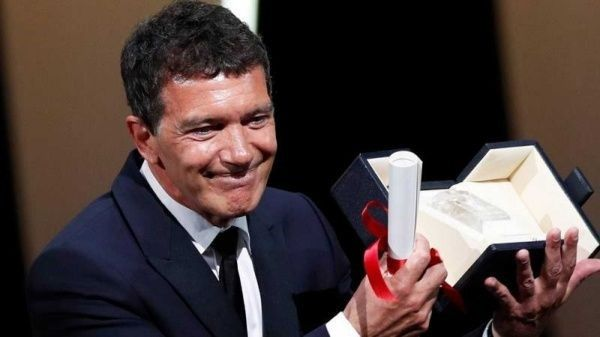 Antonio Banderas declarado como mejor actor en Cannes