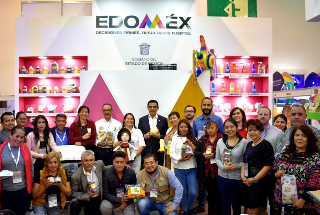 El GEM presenta productos mexiquenses en Abastur 2019