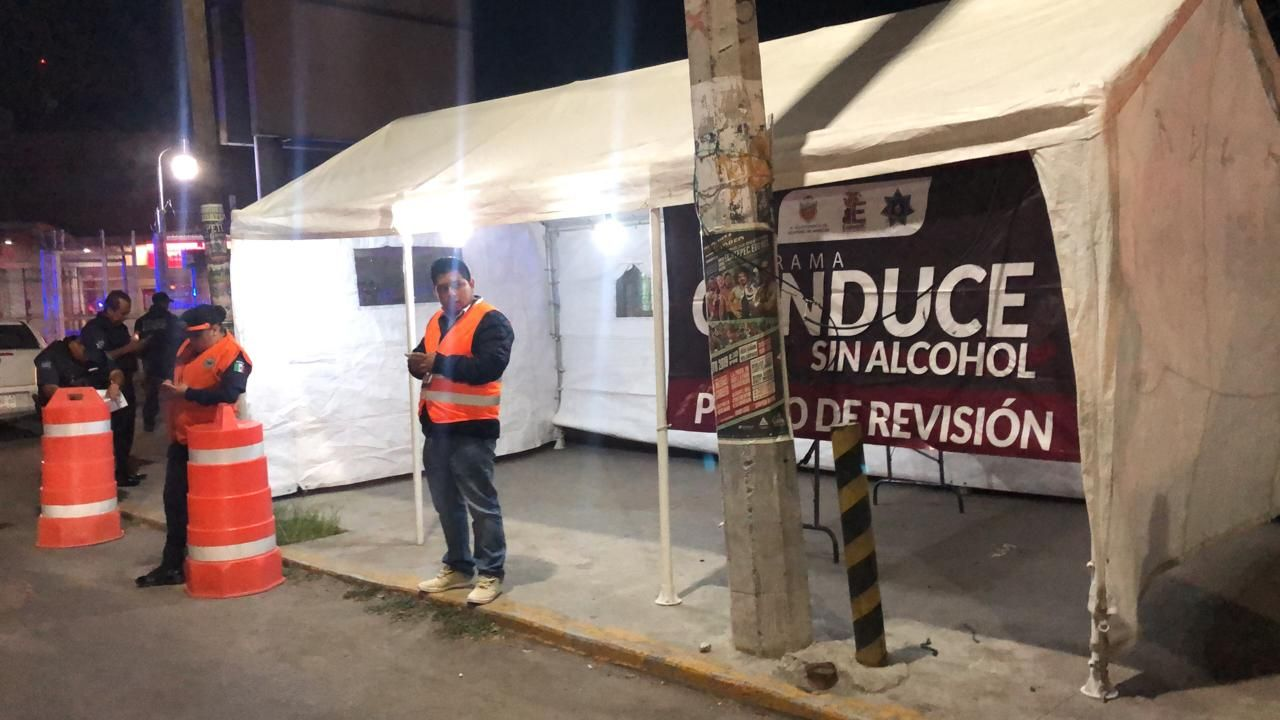 "Ecatepec reduce 27% los accidentes con ""Conduce Sin Alcohol"""