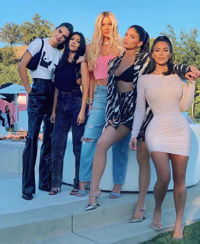Kourtney Kardashian sale del famoso reality 'Keeping Up With the Kardashians'