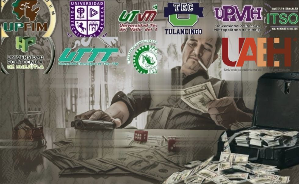 Las 10 universidades de Hidalgo embarradas en fraudes y desvíos (VIDEO)