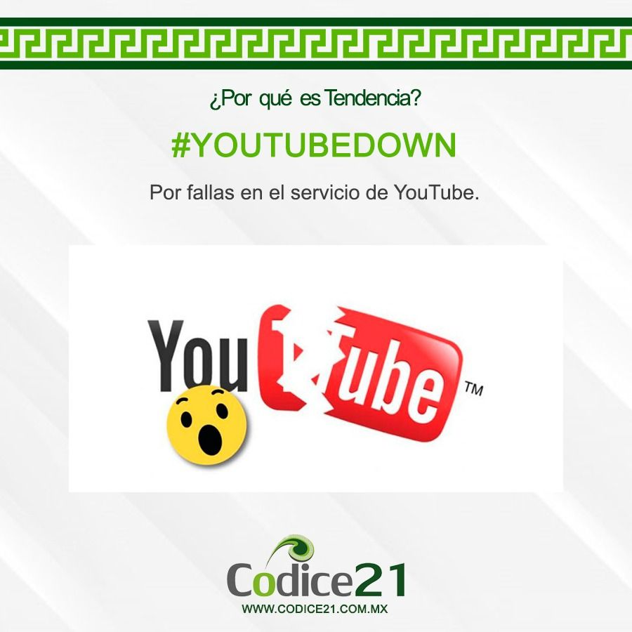 YouTube es tendencia por fallas en el servicio