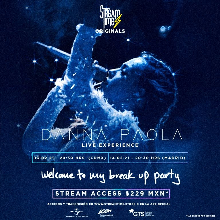Danna Paola live experience