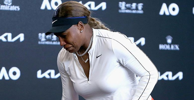 El emotivo llanto de Serena Williams en el Australian Open