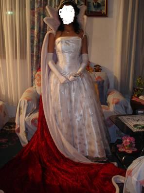 Vestidos de reina de las fiestas