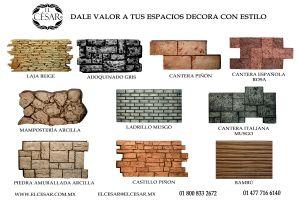 Este 2018 Dale Valor a tus Espacios Decora con Estilo www.elcesar.com.mx www.elcesar.mx 01 800 833 2672 elcesar@elcesar.mx
