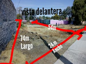 !!!EXCELENTE OPORTUNIDAD!!! Terreno ubicado en Nonoalco perteneciente al municipio Chiautla Estado de México a un lado del Jardín de Eventos y Temazcal TIAUI, a 10 min de Texcoco y 25 del Nuevo Aeropuerto.  Con una SUPERFICIE TOTAL de 1054 metros cuadrados. Cuenta con: Sus