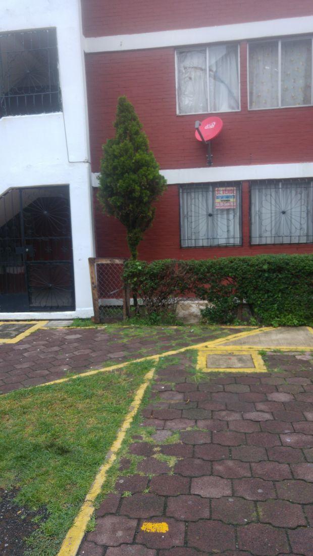 Departamento. Planta Baja Semi nuevo Todos los servicios Tres recamaras Cocina integral Tanque estacionario Piso mosaico 62 m/2  Unidad San Rafael Coacalco Coacalco de Berriozábal Estado de México CP 55719