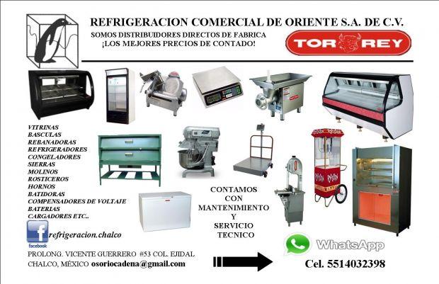 REFRIGERACION COMERCIAL DE ORIENTE S.A. DE C.V.  Nuestro objetivo principal es seguir siendo la mejor opción en la destribuición en los equipos de  RERIGERACIÓN y MAQUINARIA para la Industria alimenticia.  Hemos trabajado para tener un servicio con valor agregado, atendiendo los requerimientos