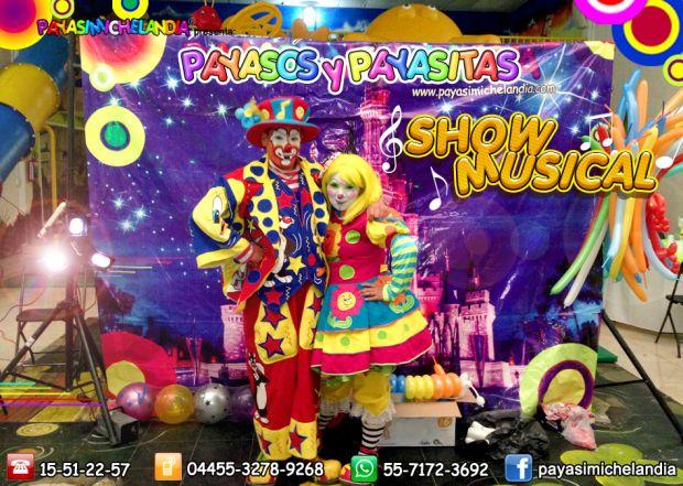 ♪ ♫ ♪ ♫ Show Musical de Payasos para tu Fiesta - DF/EdoMex ♪ ♫ ♪ ♫     ¡Hola! Te ofrecemos los Servicios Profesionales de los Payasos mas lindos y divertidos para animar tu fiesta de cumpleaños o evento especial.   Producción