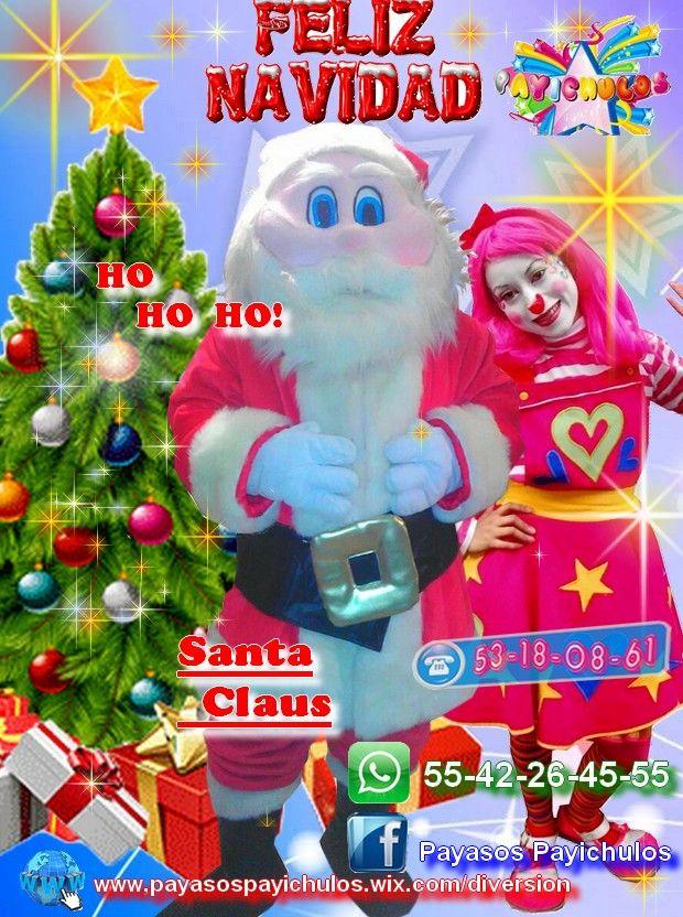 SANTA CLAUS PARA ANIMACIÓN DE EVENTOS NAVIDEÑOS EN TLALNEPANTLA  ¡SANTA CLAUS PERSONAJE O BOTARGA PARA EVENTOS NAVIDEÑOS!  Hola PAYICHULOS trae a uno de los amigos favoritos de tus pekes a SANTA CLAUS!!!  Invítalo a tus fiestas navideñas tiene muchas sorpresas para ti y