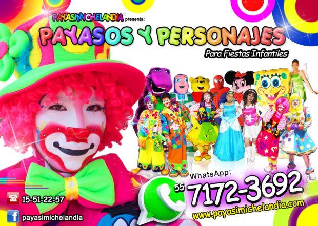 ☆☆☆☆☆ PAYASOS y PAYASITAS PARA FIESTAS INFANTILES - CDMx/EdoMex ☆☆☆☆☆    ¡Hola! El Super Show que te Ofrecemos tiene 1 Hr de duración, tiempo durante el cual contamos chistes y adivinanzas, realizamos rutinas y Sketches cómicos, hacemos magia, organizamos Concursos superdivertidos;