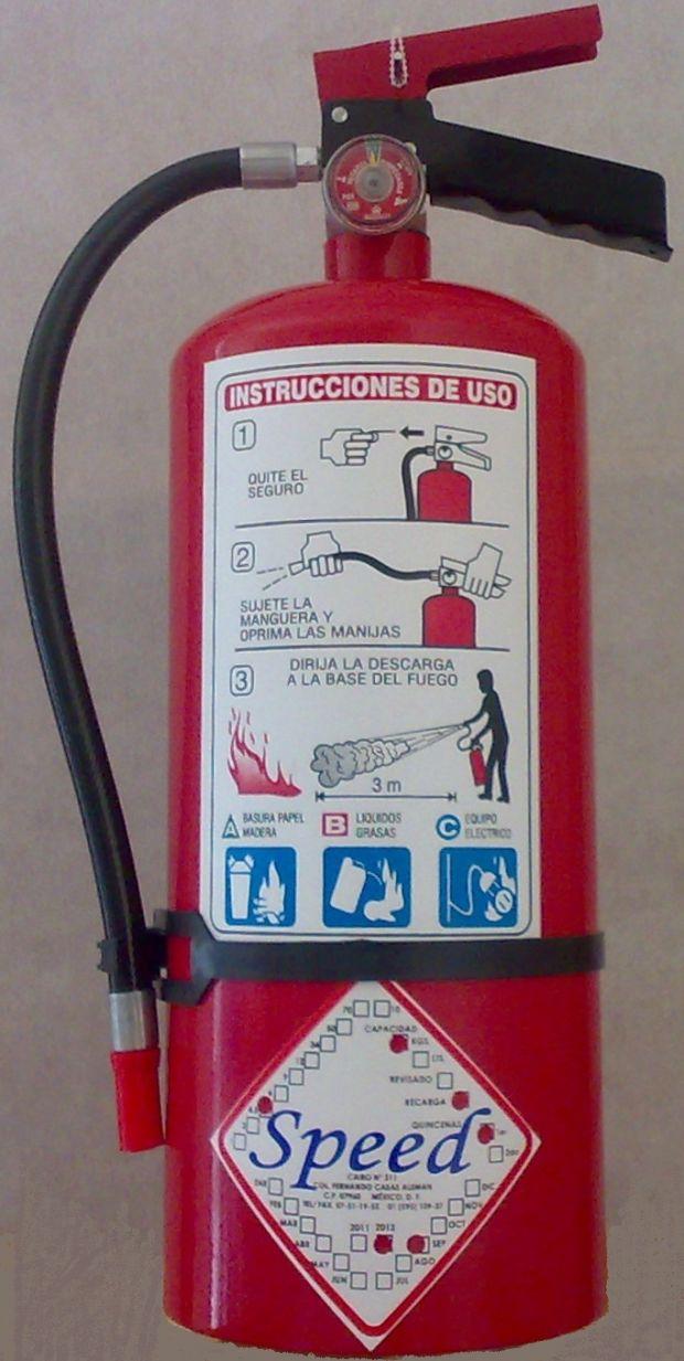 Recarga de todo tipo de extintores