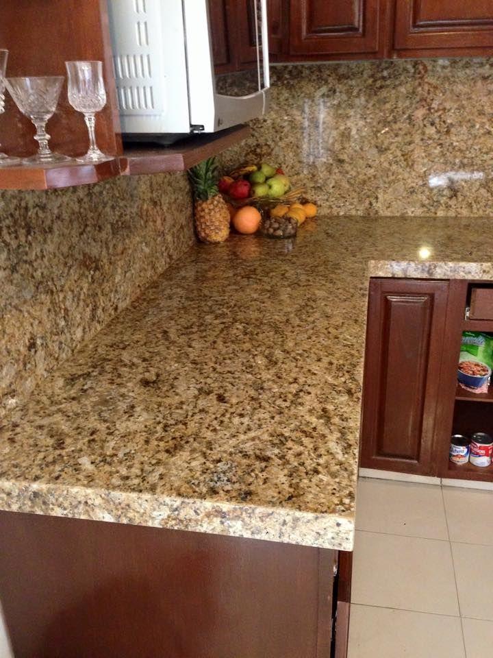 Cubiertas en granito para cocina hola fabricamos cubiertas for Material granito para cocina