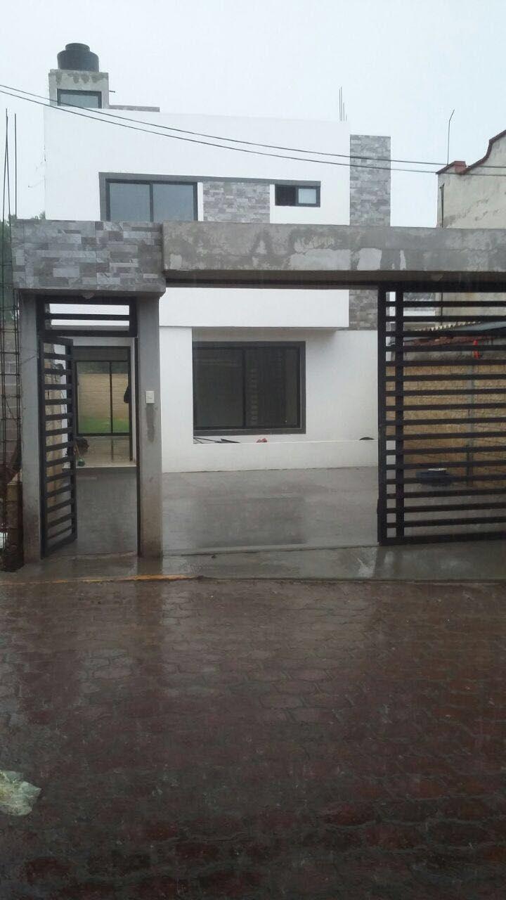 venta de casa nuevas estilo minimalista superficie 193 m2