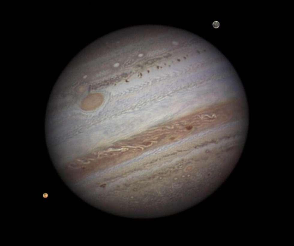 Júpiter en primer plano