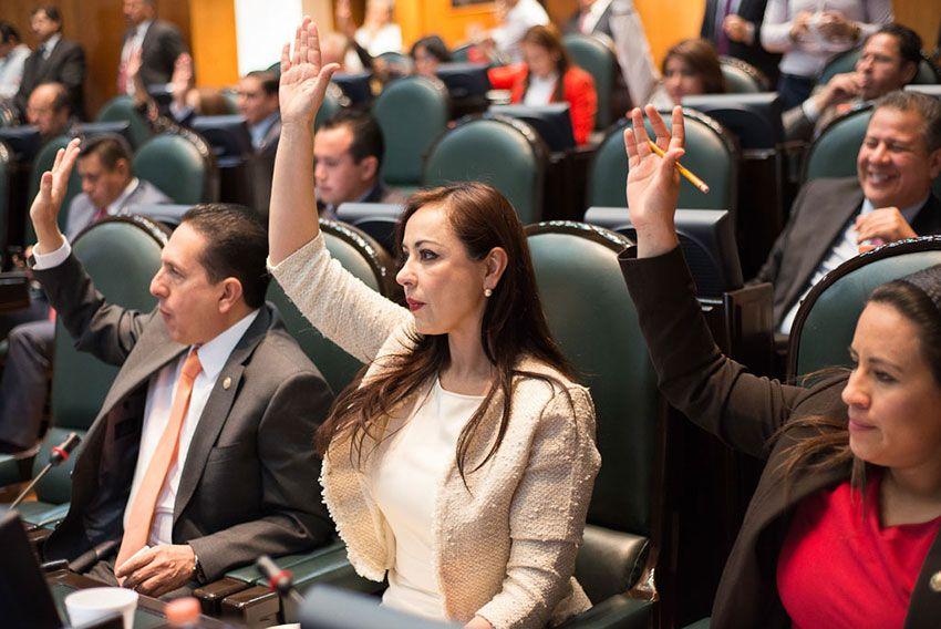 Respaldan diputados de MC a la sociedad con ley de participación ciudadana