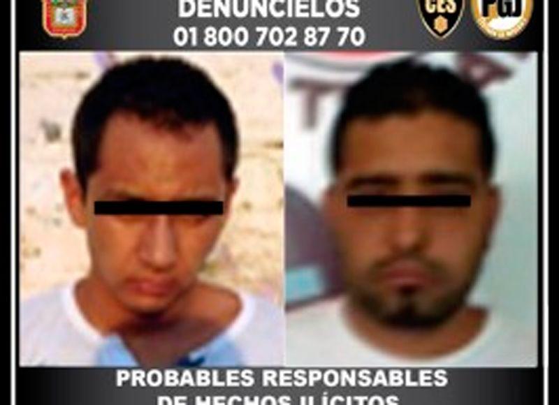 Detienen a presuntos responsables de robo con violencia durante el plan tres