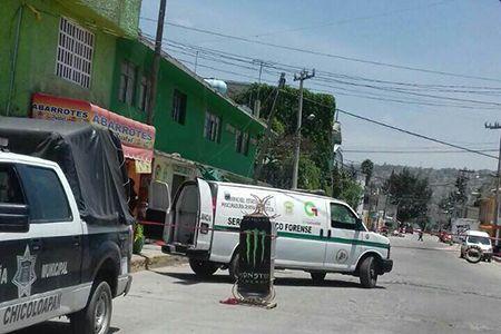 Asesinan a  comerciante  en Chicoloapan