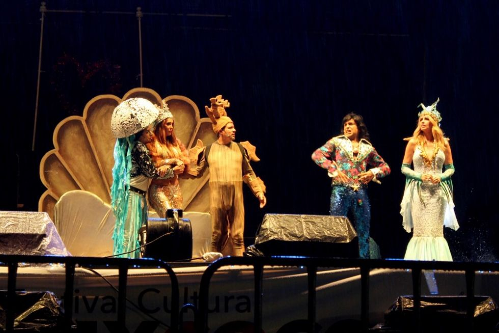 La lluvia no par los espect culos del x festival cultural for Espectaculos mexico 2016