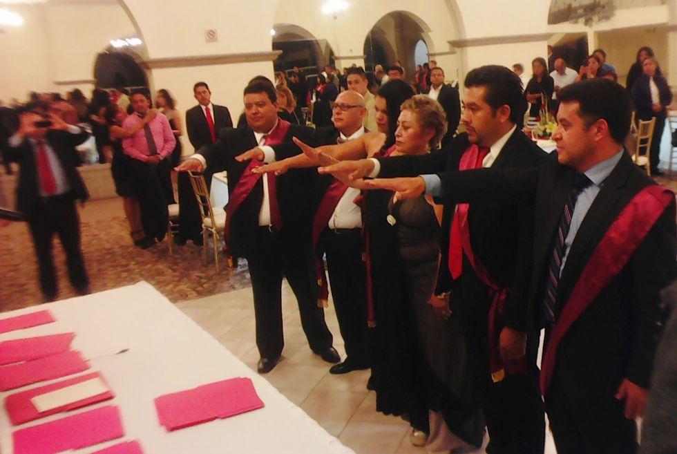 Rinden protesta 'Juristas Colegiados del Estado de México'