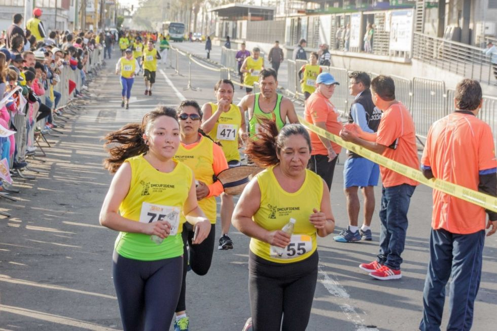 In Neza, more than 2 thousand women and men traveled in favor of the diversity and equality of Gender