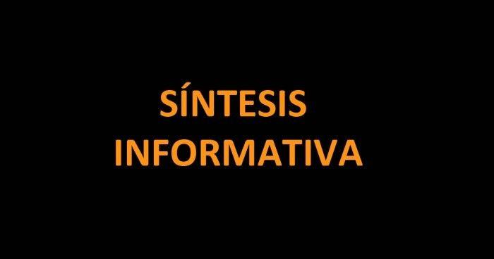 Resultado de imagen para sintesis informativa