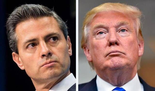 Peña Nieto y Donald Trump, dos políticos, dos preocupaciones: el pelo y el poder