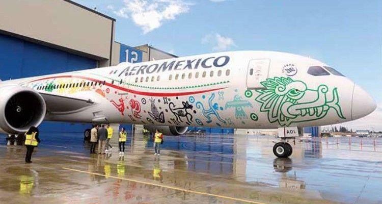 Inaugura de la Madrid vuelo de Aeroméxico a Londres con el Boeing 787-9 'Quetzalcóatl'