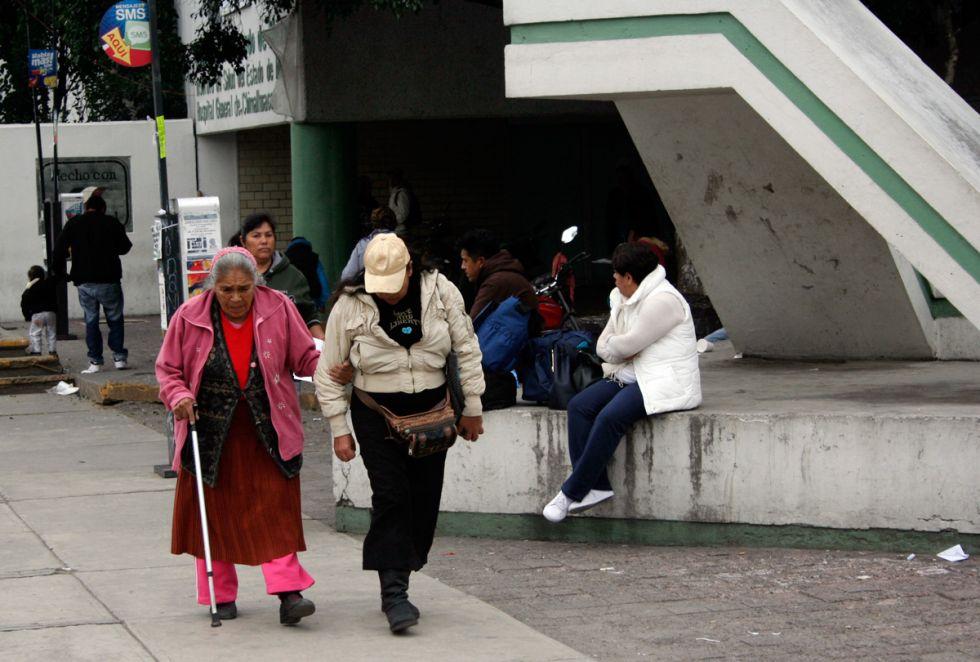Pacientes víctimas del Hospital 90 camas