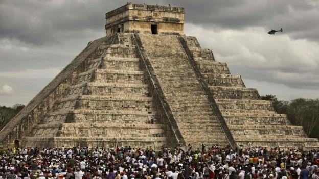 México: descubren otra pirámide dentro de la gran pirámide maya de Kukulkán, en Chichen Itzá