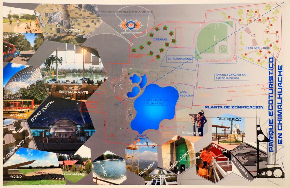 Parque Ecológico de Chimalhuacán estará a la altura de grandes sitios recreativos del país: Rosalba Pineda