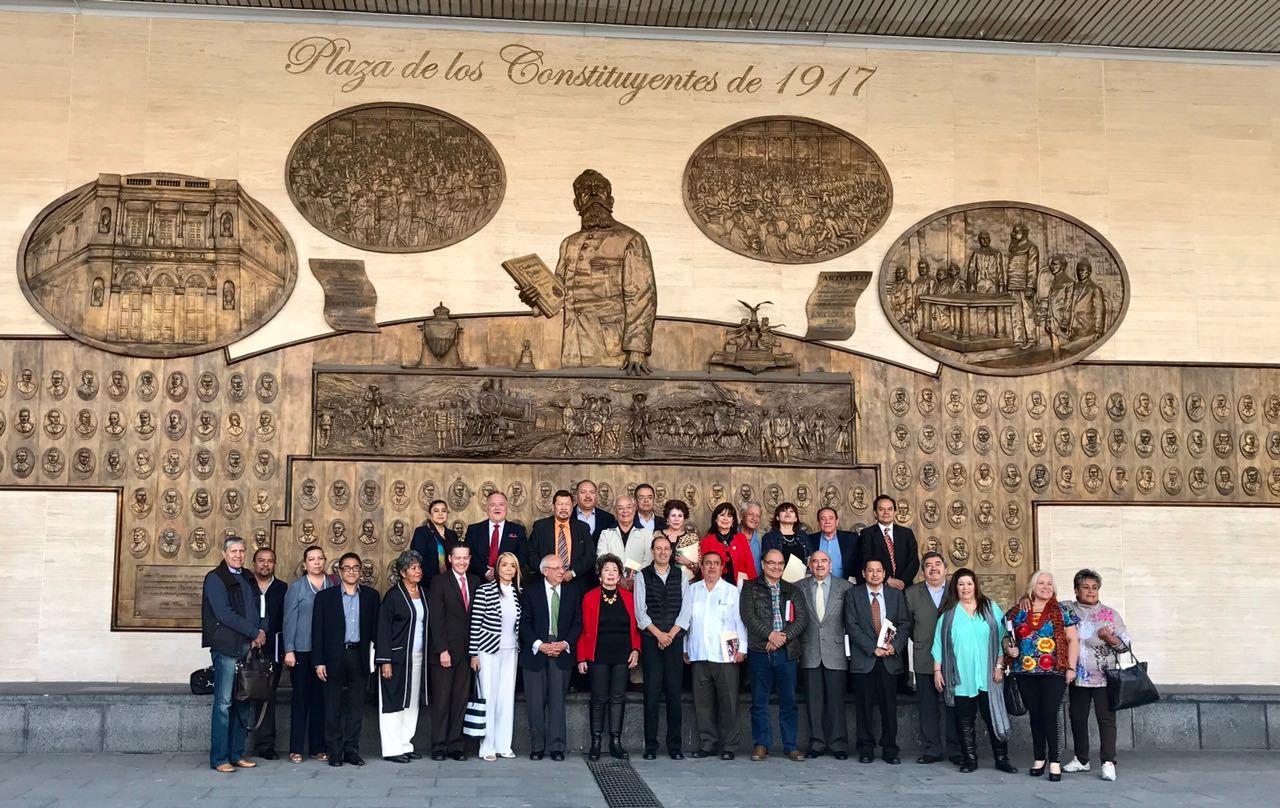 Sesión de Consejo Directivo de Fapermex y CONALIPE en la CDMX