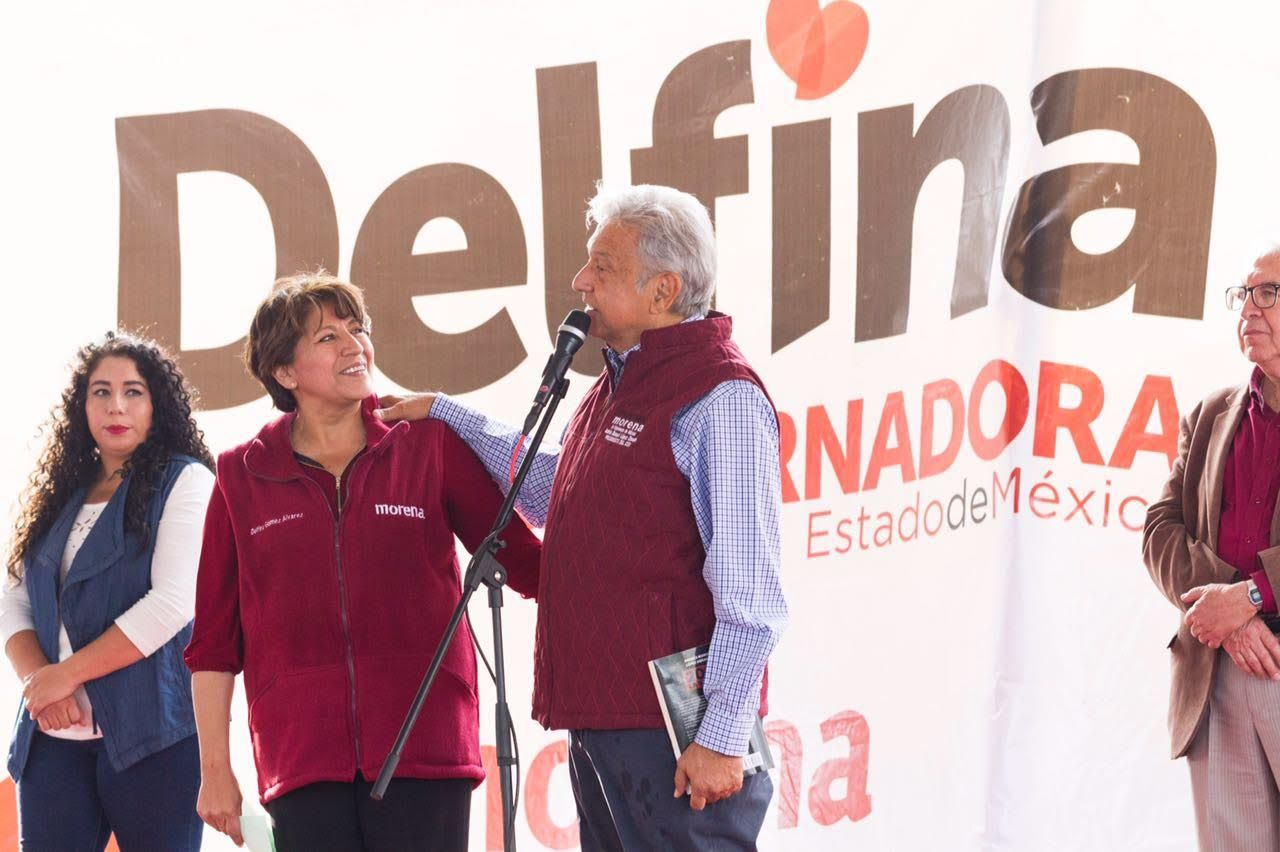 Fuera la corrupción del PRIAN: Delfina Gómez