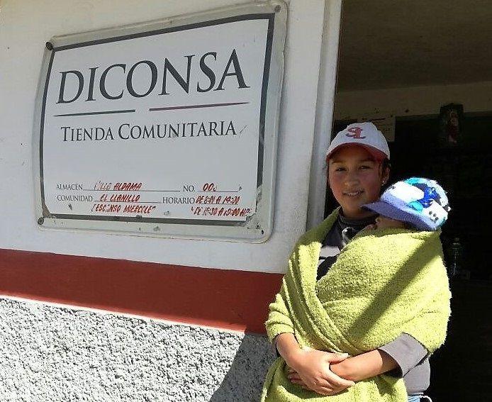 Diconsa surte comunidades a 3 mil metros de altura en el Volcán Cofre de Perote