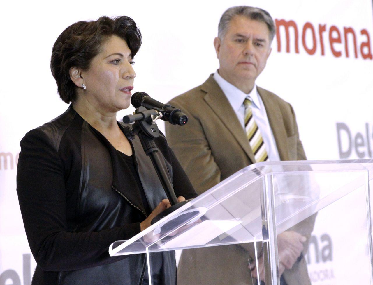 Define Delfina Gómez a asesor en austeridad para proyecto en Edomex