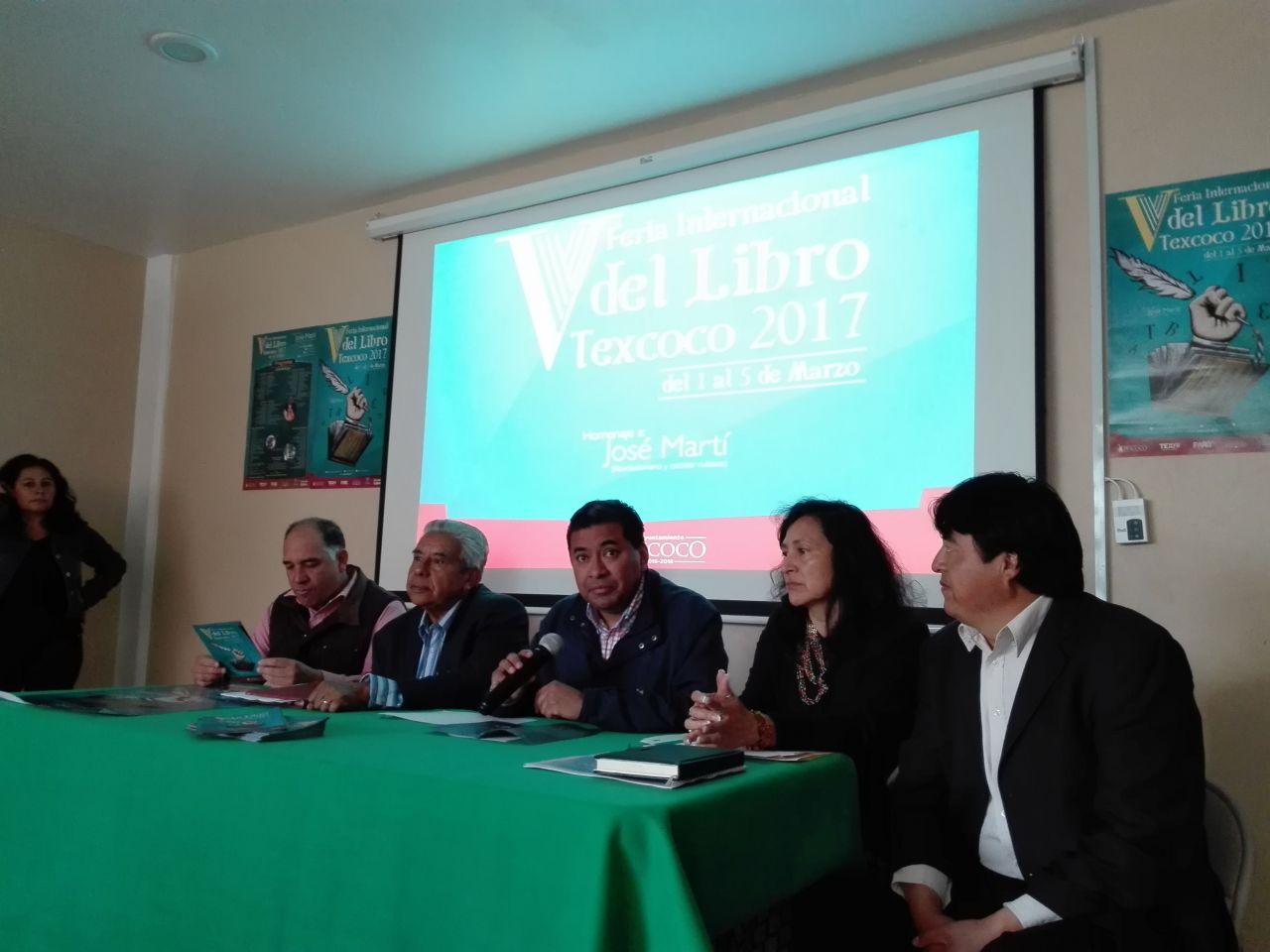 Este miércoles inicia V Feria Internacional del Libro Texcoco 2017