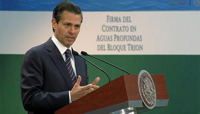 Inversionistas comprometen 70 mmdd en sector energético, anuncia Peña Nieto