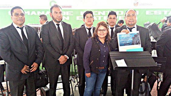Un éxito, concierto de orquesta sinfónica de Chimalhuacán en Ecatepec