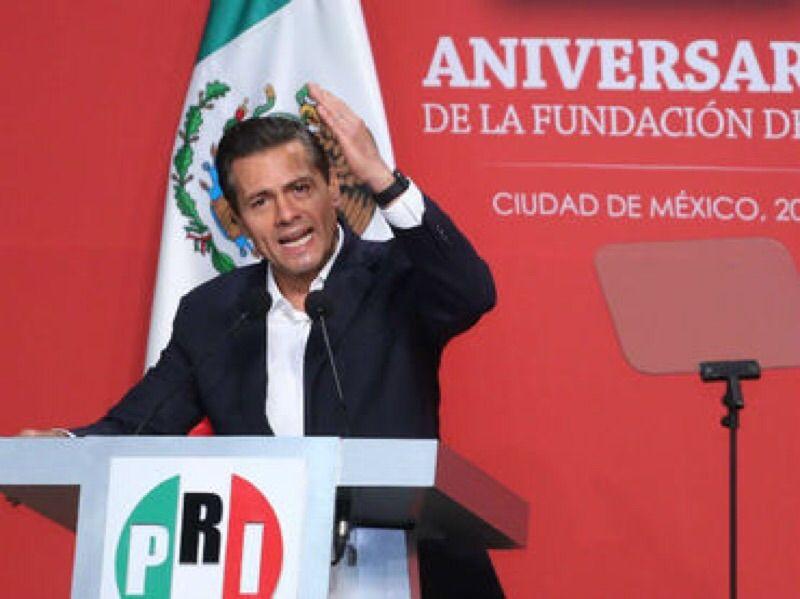 Peña Nieto augura triunfo del PRI en elecciones