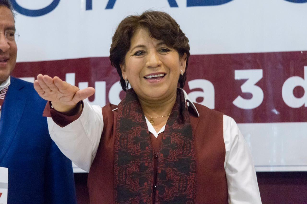 Delfina Gómez fue designada candidata de Morena en Edomex