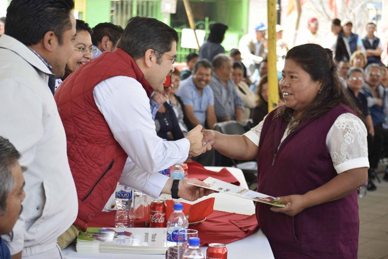 Entrega movimiento antorchista Texcoco rítulo de propiedad