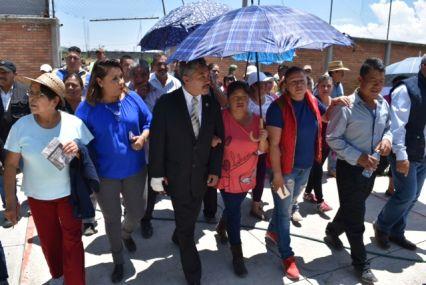 Llega la justicia social en la Colonia San Miguel Las Tablas: Ramón Montalvo
