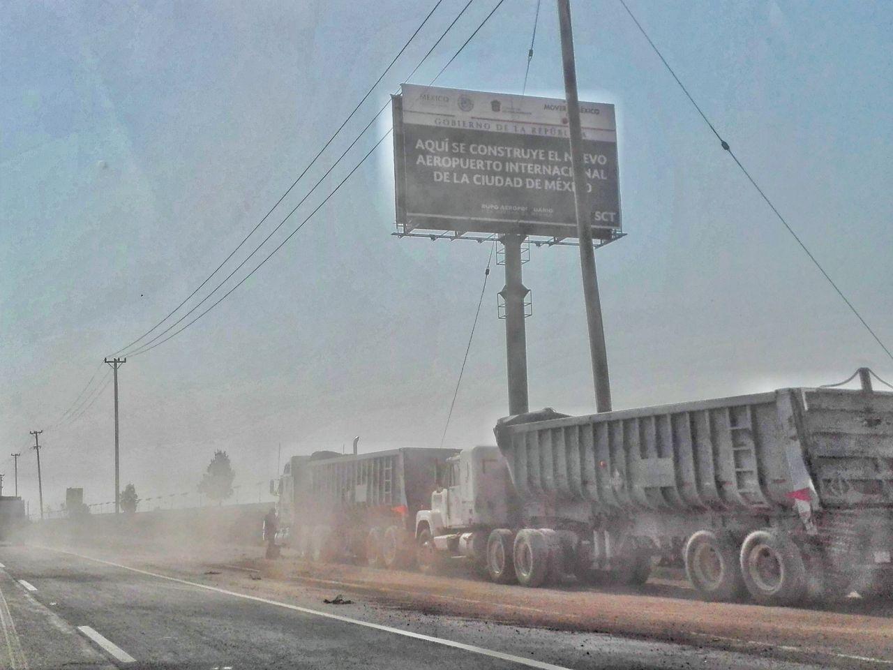 Senado pide blindar con muro aeropuerto en Texcoco